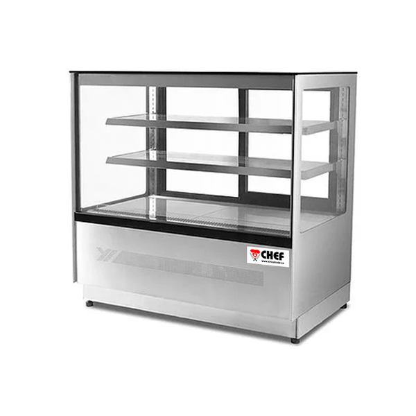 5ft Square Pastry Display Cooler
