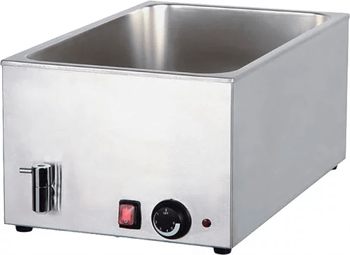 Bain Marie with Mechanical Controller and Drain 8710