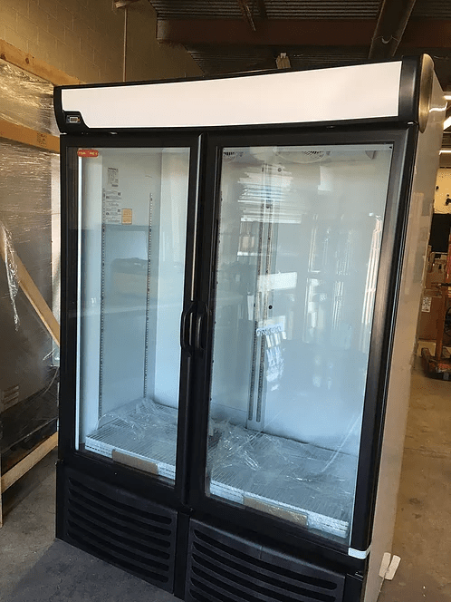 Display Cooler 2 Glass Doors