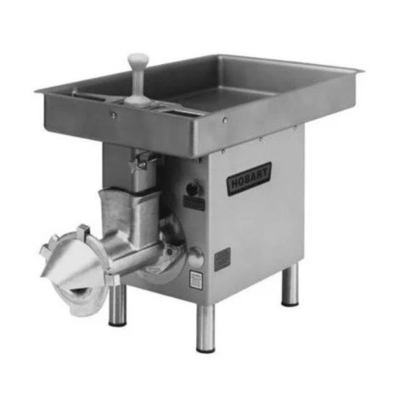 HOBART Meat Chopper with Feed Pan - 3 hp 4732A-18STD