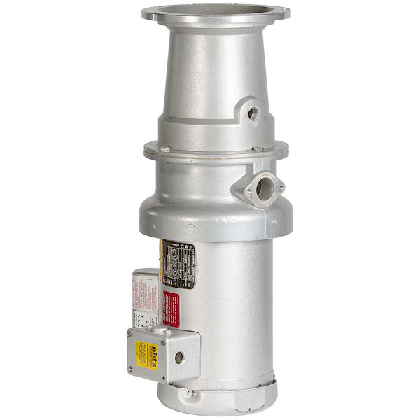 HOBART Commercial Garbage Disposer with Long Upper Housing - 3/4 hp, 120/208-240V FD4/75-4