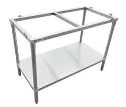 30″x48″ Solid Poly Top Table 41276