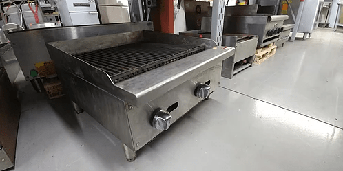 "24""CHEF Charbroiler-Used-Natural Gas"