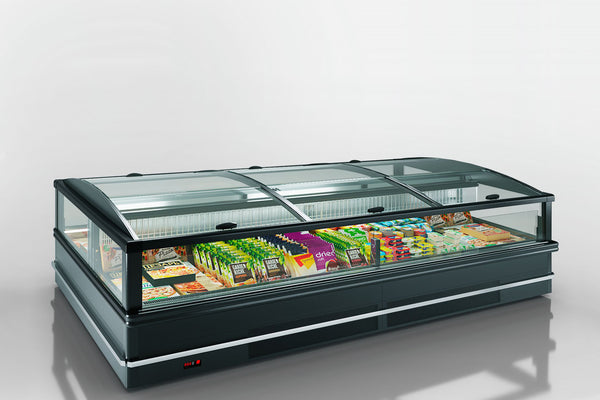 Alaska-Line 8ft chest freezer With sliding lid (glass top)