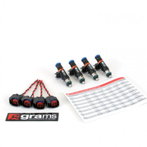 GRAMS 1000CC K-Series Injectors