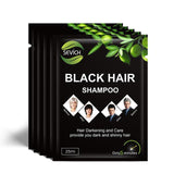Black Hair Shampoo (5 Packets)