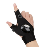 LED Finger Light Glove