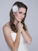 Load image into Gallery viewer, Silk Flower Bridal Hair Accessory