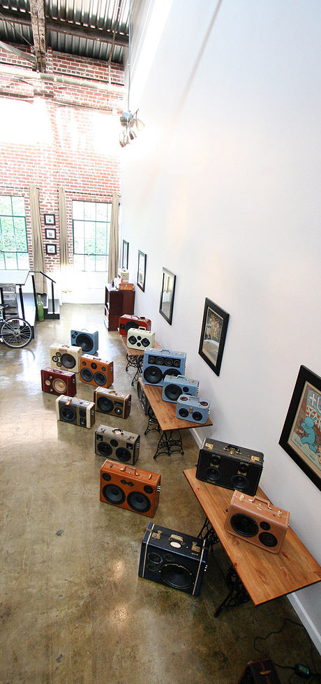 Curious Provisions Boombox Showroom