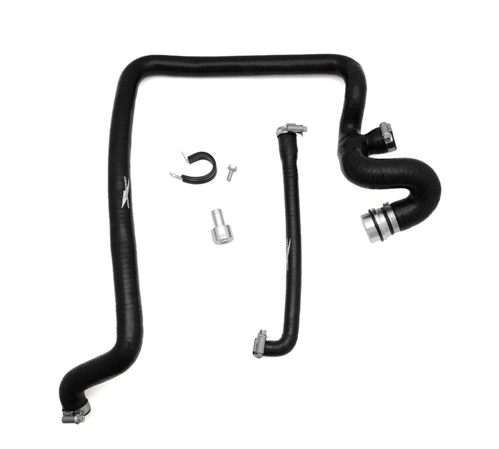 034 MOTORSPORT BREATHER HOSE KIT, B5 AUDI A4 & VOLKSWAGEN PASSAT 1.8T, AEB WITH MANUAL TRANSMISSION, REINFORCED SILICONE