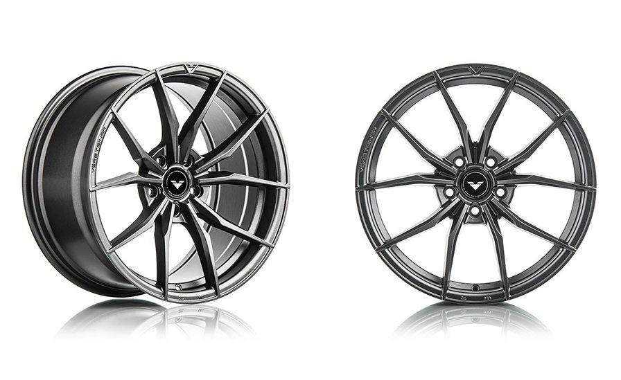 VORSTEINER V-FF 108 CARBON GRAPHITE WHEELS 18X9.5 RIM SIZE/ 5X112 SET OF FOUR