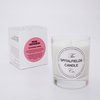 Rose Geranium Natural Candle