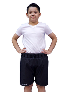 Non-Sinkable Black Swim Shorts - Kids