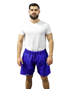 Non-Sinkable Dark Blue Swim Shorts
