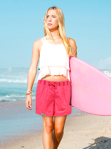 Non-Sinkable Hot Pink Swim Shorts