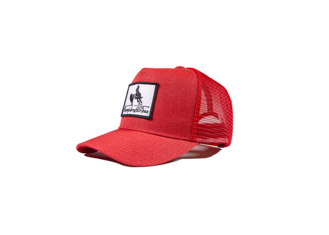 Wholesale Rust Red CampdraftAus Vintage Cap