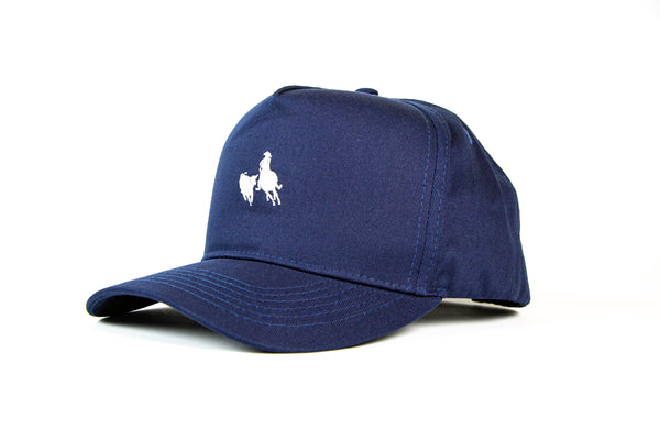 Navy Cotton Chino Cap
