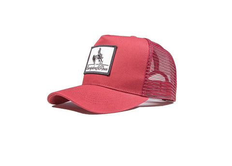 Wholesale Maroon Vintage Cotton Trucker Cap (RRP $29.99)