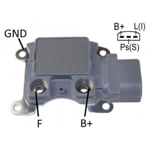 REGULADOR ALTERNADOR FORD 3G BLANCO   35-209   F786        CODIGO 31206