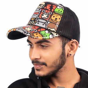 Net Multi Colour Cap