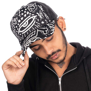Net Black Colour Cap