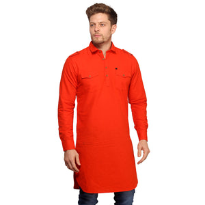 Kesari Full Sleeves Long Kurta