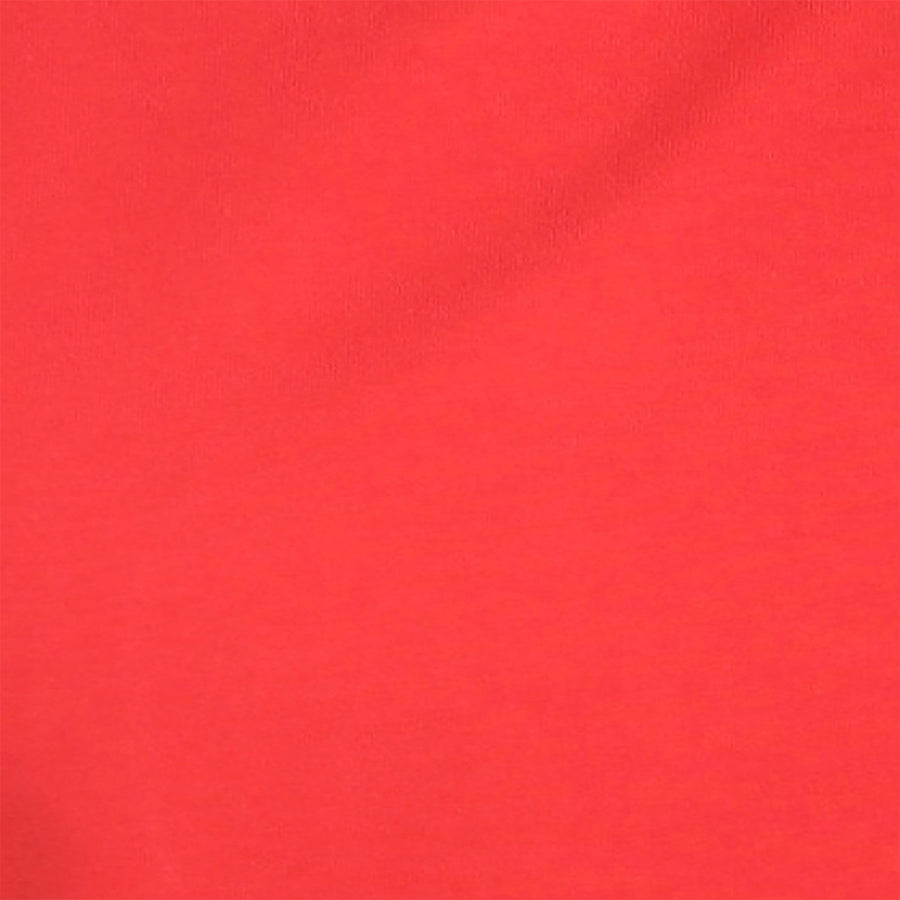 Red Plain Half Sleeves T-Shirt