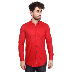 Red Full Sleeves Shirt