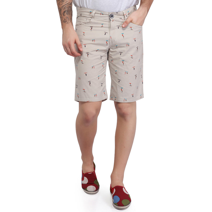 Occur Printed Cotton shorts