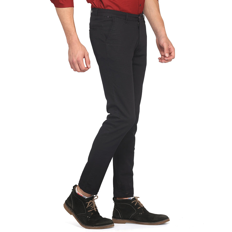 Navy Blue Casual Trouser