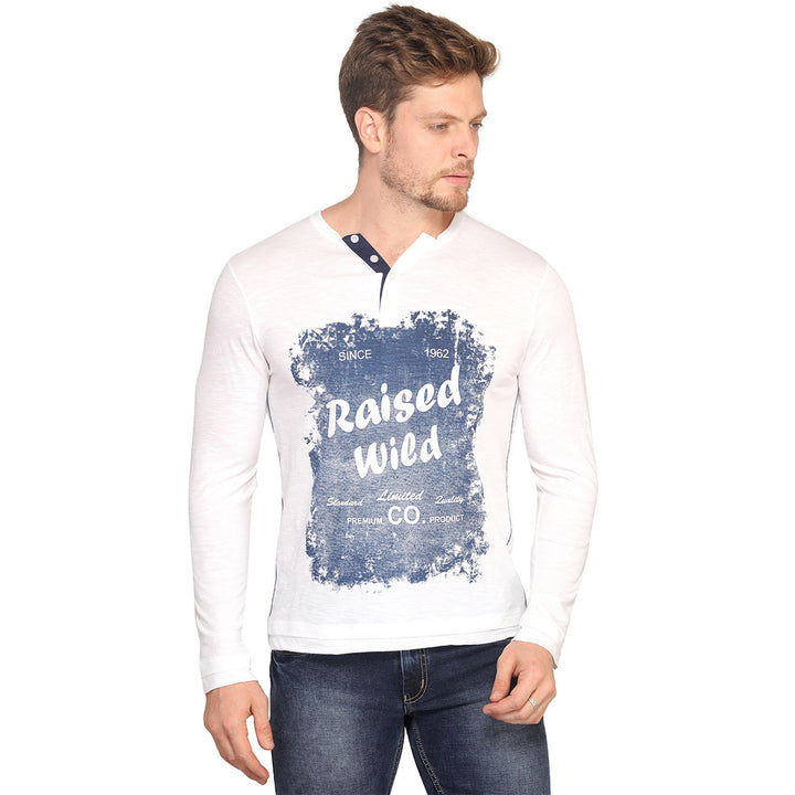 Raised Wild Full Sleeves T-Shirt