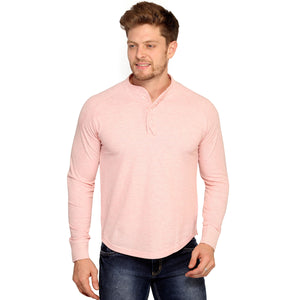 Eunry Pink Polo Full Sleeves T-Shirt