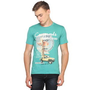 Crossroads Adventure half Sleeves T-Shirt