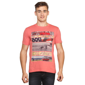 Travel half Sleeves T-Shirt