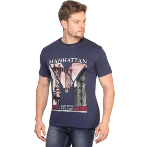 Manhattan Half Sleeves T-Shirt