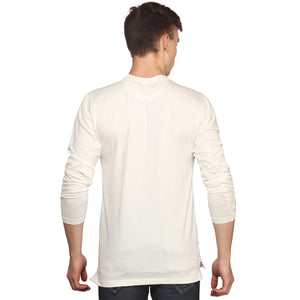 White Full Sleeves T-Shirt