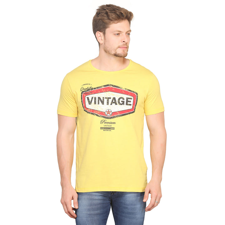 Vintage Half Sleeves T-Shirt