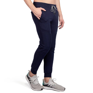 Navy Blue Joggers 4 pockets