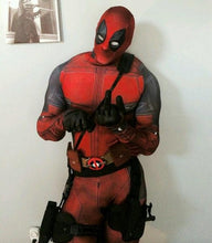 SAMPURCHASE Marvel Full Body Deadpool Costume Digital Print Lycra