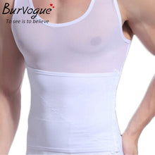 sampurchase Burvogue Hot Shaper Men Body Shaper Vest Waist Cincher and Tummy Control Slimming Belly Shaper Underwear Girdles Shapewear