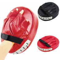 sampurchase Black Red Boxing Gloves Pads for Muay Thai Kick Boxing MMA Training PU foam boxer target Pad