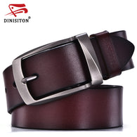 sampurchase DINISITON designer belts men high quality genuine leather belt man fashion strap male cowhide belts for men jeans cow leather
