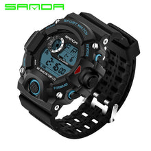 SAMPURCHASE Men Sports Watches S-SHOCK Military Watch Fashion Wristwatches Dive Men's Sport LED Digital Watches Waterproof Relogio Masculino