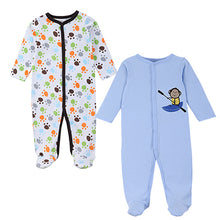 sampurchase 2016 Mother Nest New Brand Baby Rompers Long Sleeves 2 Pcs Soft Cotton Newborn Baby Clothing Fashion Baby Pajamas Infant Clothes