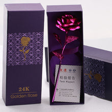 SAMPURCHASE GONGOUYANG 24k Gold Foil Plated Rose