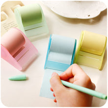 sampurchase  candy colors stationery creative cute notes paper, Xpress convenient stickers, with tape seat, can tear the scrapbook H0072