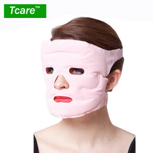 sampurchase Tcare 1pcs Beauty Face-lift Mask Tourmaline Magnetic Therapy Massage Face Mask Moisturizing Whitening Face Masks Health Care
