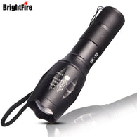 sampurchase High Power CREE XML-T6 5 Modes 3800 Lumens LED Flashlight Waterproof Zoomable Torch lights