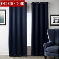 sampurchase Modern blackout curtains for window treatment blinds finished drapes window blackout curtains for living room the bedroom blinds