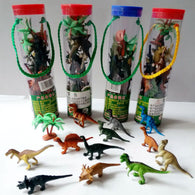SAMPURCHASE 12pcs/set Kids Imaginative Dinosaur Toy 6cm PVC Action Figure